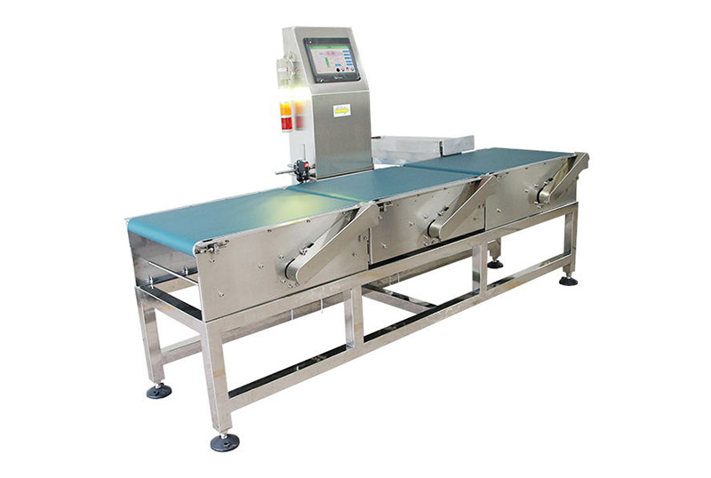 Large case and bags checkweigher