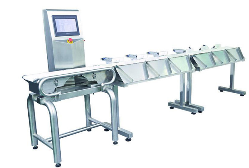 VC-M5 5grade Weight Sorting Machine Solution