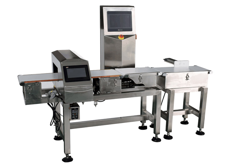 VCM Metal Detector and Check Weigher